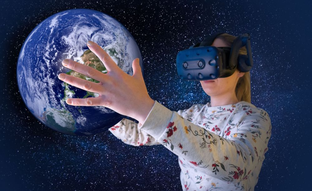 VR the world